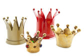 Four crowns — Stock Photo