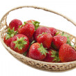 Delicious strawberries — Stock Photo