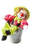 Gelukkig clown — Stockfoto