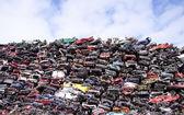 Old scrapyard — Stock Photo