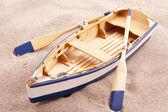 Classic little boat — Stock Photo