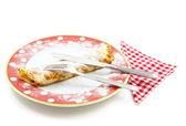 Pancake lunch — Stock Photo