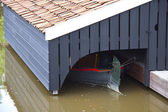 Small boathouse — Stock Photo