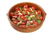 Italian meal — Stock Photo