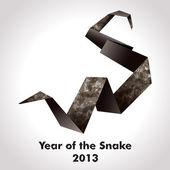 Année du serpent — Vecteur