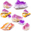 Mineral amethyst - Stock Photo