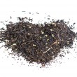 Drawing from the dry tea leaves — Stock Photo #11611321