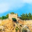 Fragment of the wall of an old fortress — Foto Stock