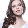Face of a beautiful young woman — Stock Photo #11693814