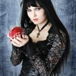 Gothic girl — Stock Photo