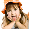 Adorable little girl — Stock Photo