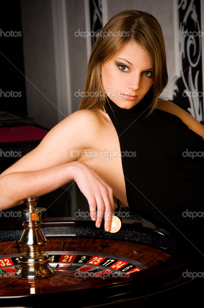 depositphotos 11895179 Sexy young girl in casino Sound Bytes and Solar Flares