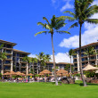 Maui beach resort - Stock Photo