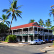 Stock Photo: Pioneer Inn, Lahaina, Maui