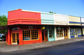 Old Lahaina storefronts, Maui — Stock Photo