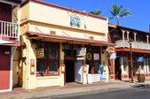 Old Lahaina storefronts, Maui — Stock Photo