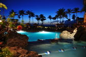 Maui beach resort — Stock Photo