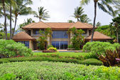 Maui beach estate — Stock Photo
