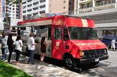 Perogy Boyz food truck — Stock Photo