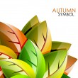 Stock Vector: Autumn concept