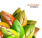 Autumn concept — Stock Vector
