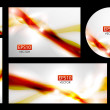 Vector wave banners — Stock Vector #11155835