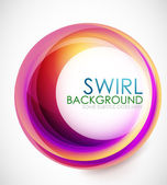 Glamorous swirl background — Vector de stock