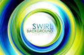Swirl abstract background — Vetorial Stock