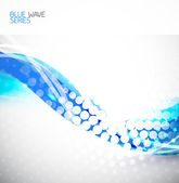 Abstract wave background — Stock Vector