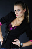 Modelo chica hermosa — Foto de Stock