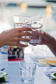 Glasses of water — Stock Photo