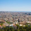 Ocean of houses in Athens - Stockfoto