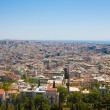 Ocean of houses in Athens - Stok fotoraf