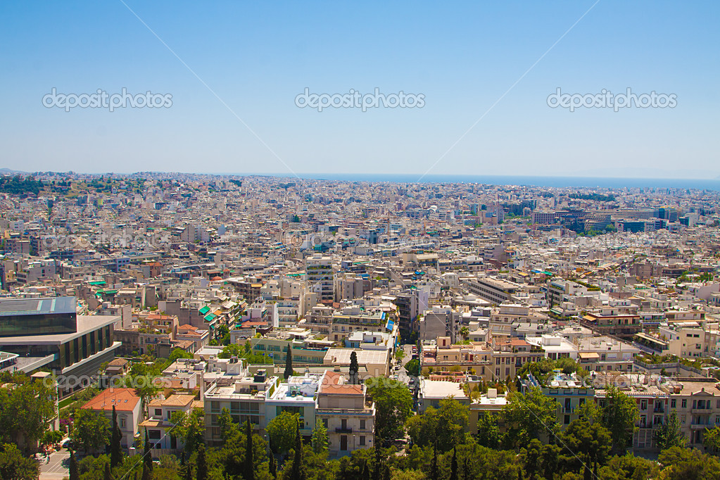 Ocean of houses in Athens — Stock Photo #11141566