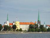 Castle of Riga, in Latvia — Stock Photo