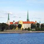 Riga Castle in Latvia — Stock Photo
