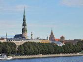 Sight of historical centre of Riga — Stock Photo