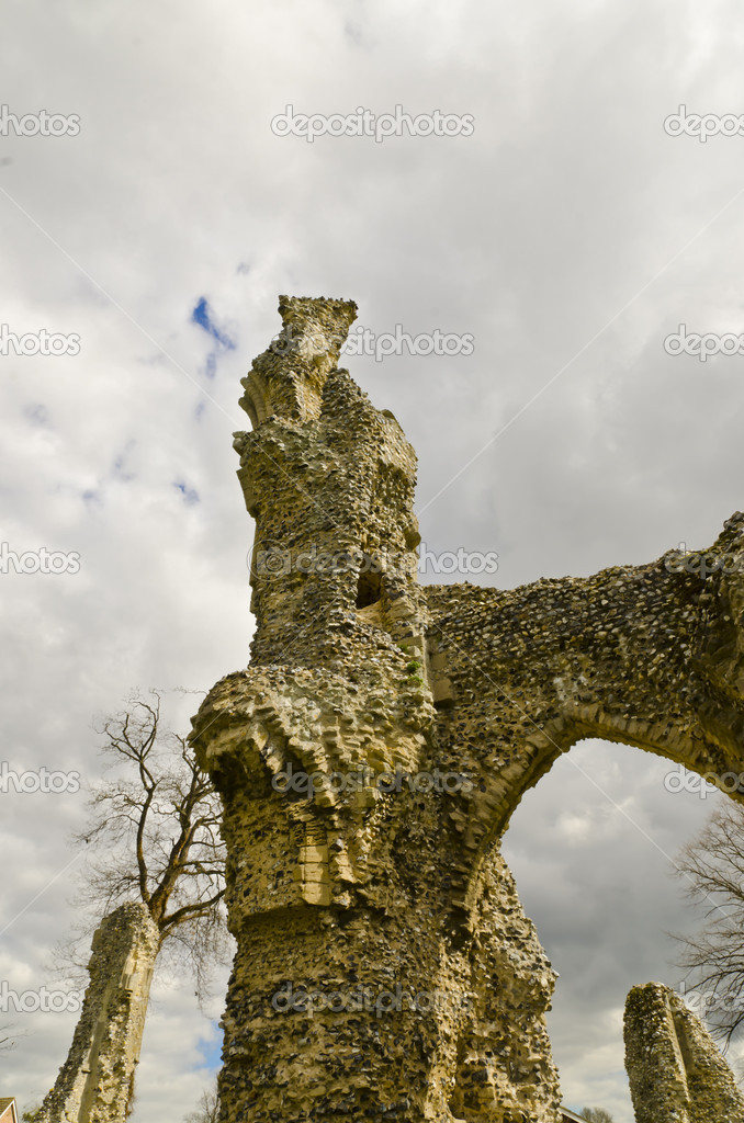 Ruined castle — Stock Photo #10851358