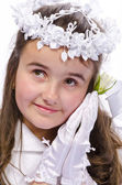 First Communion — Stockfoto
