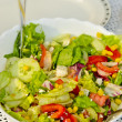 Stockfoto: Summer grill salads