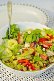 Summer grill salads — Stock Photo