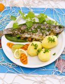 Spicy trout — Stock Photo