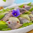 Stock Photo: Herring salad
