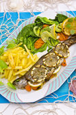 Spicy trout — Stockfoto