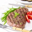 Grilled Steak. Barbecue — Stock Photo #11702110