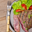 Grilled Steak. Barbecue — Stock Photo #12009418