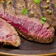 Grilled Steak. Barbecue — Stock Photo #12009423