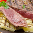 Grilled Steak. Barbecue — Stock Photo #12032174