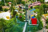 Prague funicular ropeway — Stock Photo