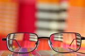 Glasses closeup — Stock Photo